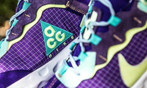 "Nike React 87 ""ACG 18 RIP STOP"" 全新客制鞋款释出"