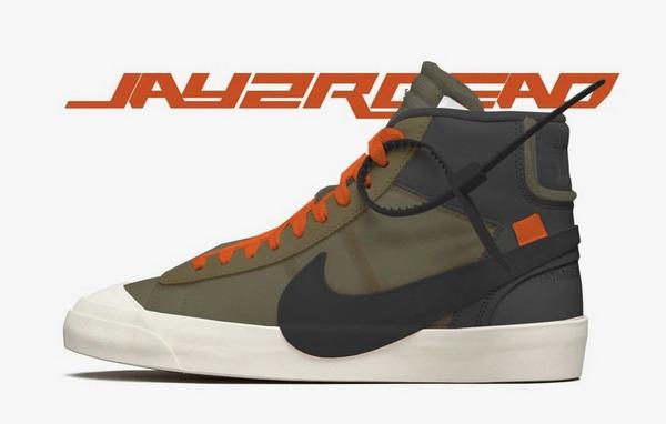 这样配色的Nike Blazer Mid鞋款是不是会更惹人爱?