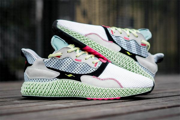 """""""4D""""革新混血 adidas ZX 4000 4D 鞋款发售详情释出"""