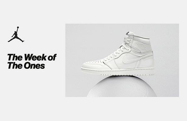 NIKE SNEAKRS UK 特别企划 Week Of Ones AJ1 发售计划开启