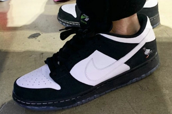 "Jeff Staple x Nike SB Dunk Low 联名鞋款""Pigeon""配色来袭"