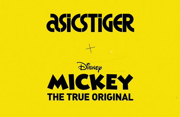 ASICSTIGER x Mickey Mouse 联名系列鞋款上架发售