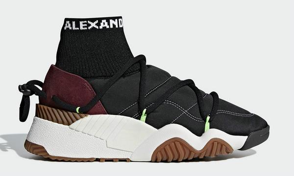 Alexander Wang x 三叶草 2018全新联名系列鞋款即将发售~