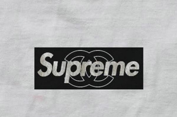 粉丝恶搞?Supreme x Chanel 联名客制版 Box Logo Tee 曝光