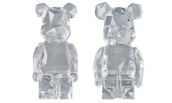 藤原浩闪电 x Baccarat x Medicom Toy 联名水晶BE@RBRICK即将发售