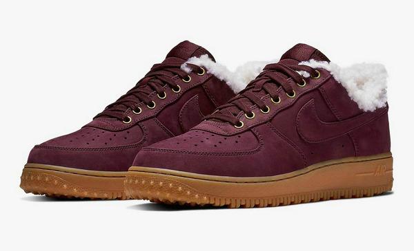 Nike Air Force 1 鞋款 Premium Winter 毛绒版上架发售