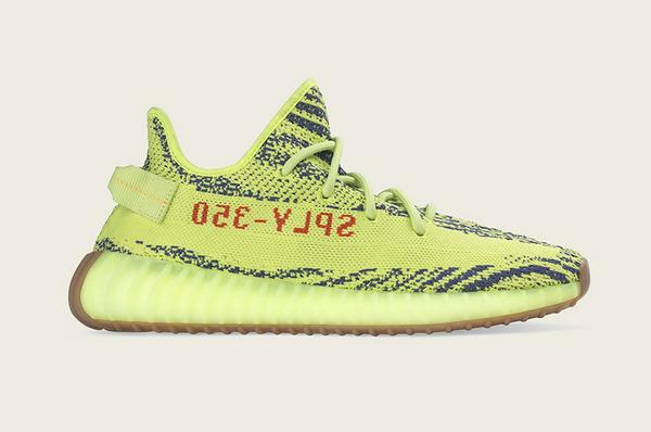 """发售日期变更,YEEZY 350 V2 鞋款""""黄斑马""""配色下周发售~"""