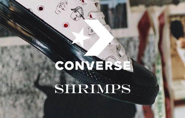 Converse x Shrimps 2018 全新联名系列曝光~