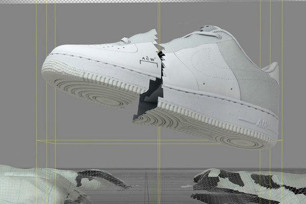 A-COLD-WALL* x Nike 2018 联名 Air Force 1 鞋款系列发售