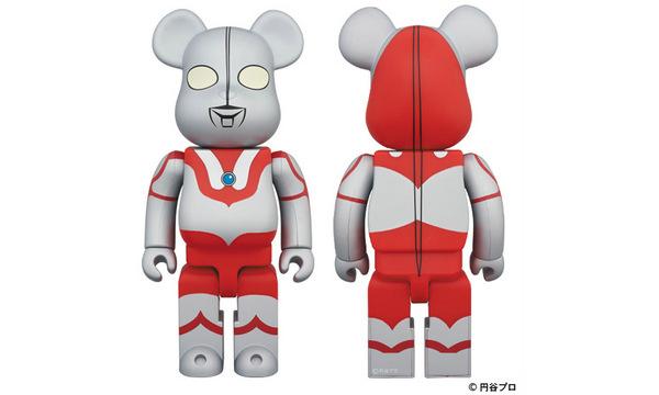 MEDICOM TOY 推出奥特曼造型 BE@RBRICK 玩偶