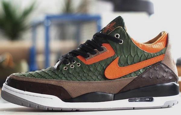 炫酷蟒蛇纹路,全新 Nike Air Jordan 3 客制鞋款曝光~
