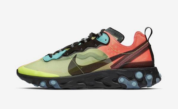 圣诞节配色?Nike React Element 87 鞋款全新配色官图释出!