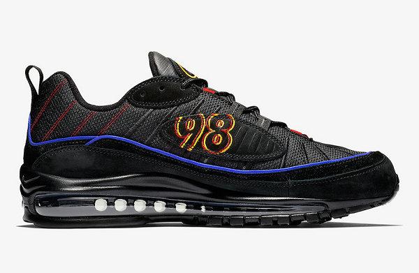Nike Air Max 98 鞋款 2019 数字刺绣配色明年 1 月上架~