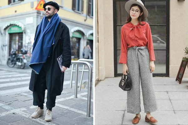 呢子裤搭配虽不简单,学会这些潮搭秘诀出街可以更帅气!