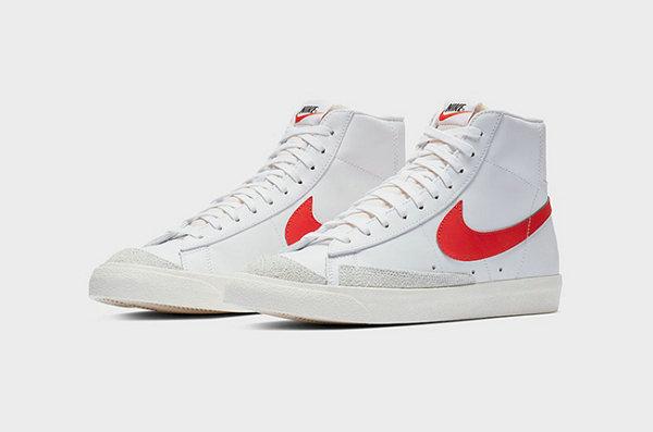 "Nike Blazer Mid 鞋款 2019""Habanero Red""配色亮相~"