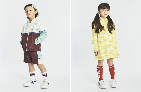 潮童必备!BAPE 2019 春夏童装系列型录正式公布~