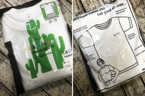 日潮 READYMADE x Travis Scott 2019 联名 T恤单品登场~