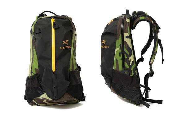 BEAMS x Arc'teryx 全新联名别注迷彩包袋系列上架发售~