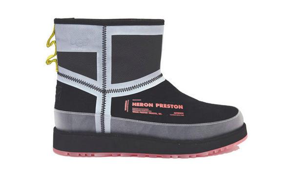 大变身!Heron Preston x UGG 全新联名雪地靴曝光!