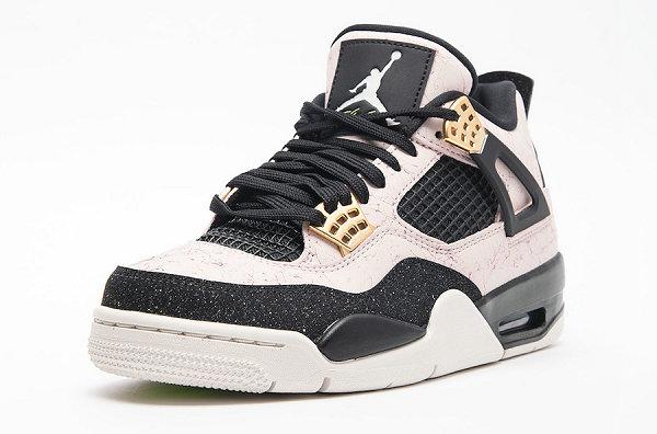 """女生专属!Nike Air Jordan 4 鞋款""""Silt Red""""配色抢先预览~"""