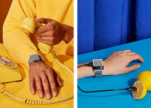 NIXON 全新 Dork Too 复古腕表系列,手表不用看?