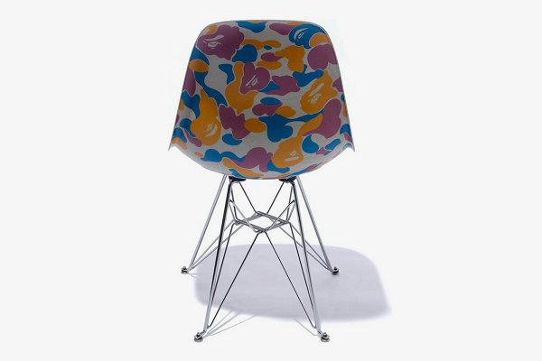迷彩贝壳椅,BAPE x Modernica 2019 联名系列明日上市