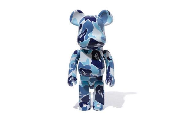 日潮 Bape x Medicom Toy 全新联名 BE@RBRICK 系列玩偶释出~