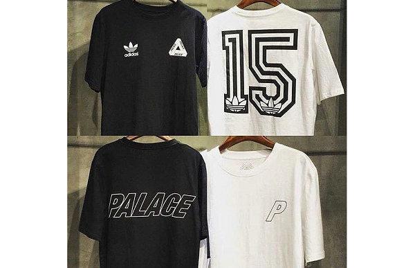 """""""15""""回归?Palace x adidas 三叶草 2019 联名 T-Shirt 抢先预览"""