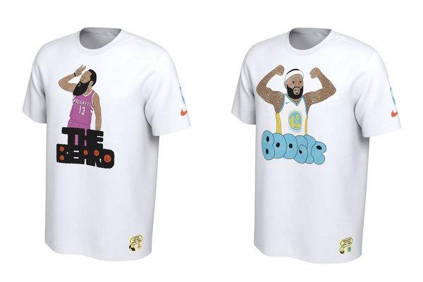 球星涂鸦T恤!Nike x Gangster Doodles 全新联名系列释出~