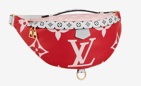 Louis Vuitton 今夏推出彩色限量 Monogram 包款,视觉冲击强烈~