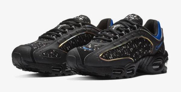 Supreme x Nike Air Max Tailwind IV 联名鞋款,下周一正式开抢~