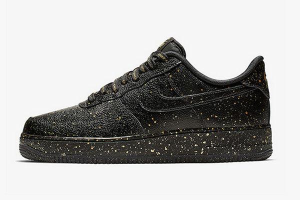 """奢华黑金装扮!Nike Air Force 1 """"Only Once"""" 鞋款首次亮相~"""