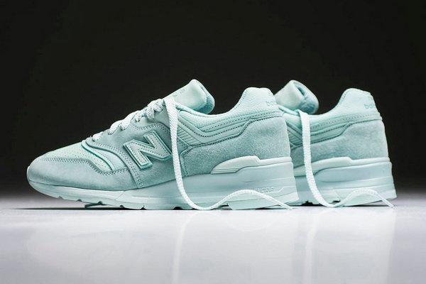 New Balance 997 鞋款全新「Mint Julep」配色现已发发售~