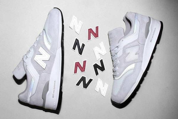 可替换 LOGO,New Balance 2019 美产 997 灰白配色鞋款上市