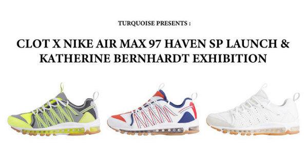 CLOT x Nike Air Haven 97 全新联名系列释出,全新 Pop-Up Store 同步开售?