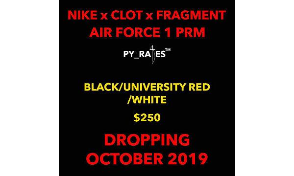 藤原浩闪电 x CLOT x Nike 2019 联名 AF1 鞋款预计 10 月重磅登场