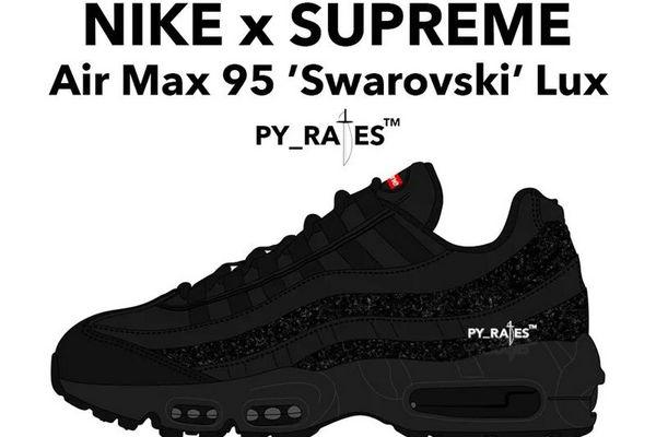 Supreme x Nike Air Max 95 x Swarovski 联名鞋款.jpg