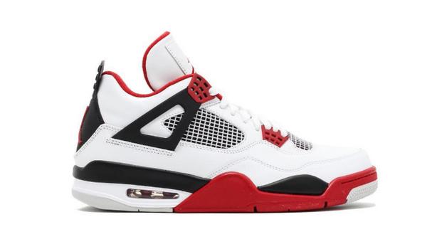 Air Jordan 4 Fire Red 配色鞋款.jpg