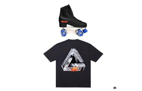 Palace LA 限定单品预览释出,全新轮滑鞋及 T恤即将登场