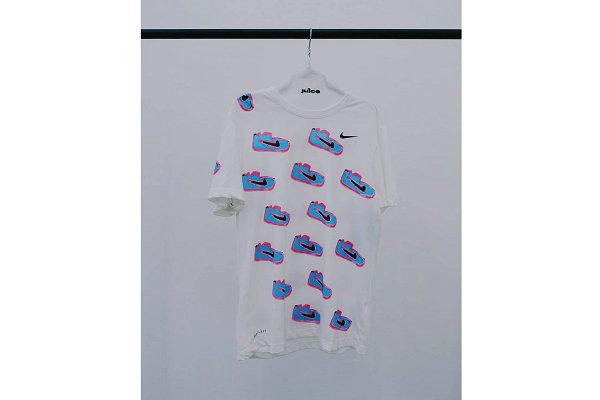 陈冠希 CLOT x Nike 联名艺术家合作限定 T恤亮相
