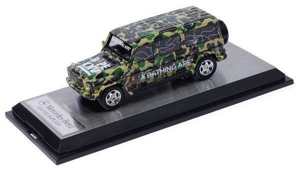 BAPE x Schuco 合作推出迷彩 G-Class 玩具车,比真车适合收藏~