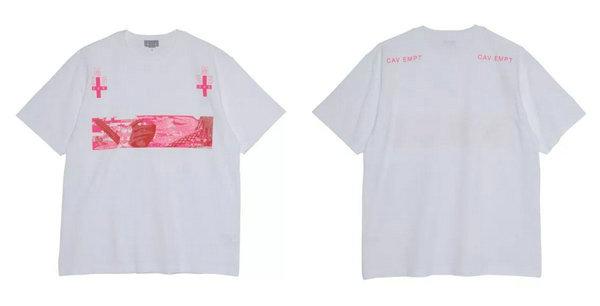 日潮 Cav Empt 2019 春夏系列新增两款 T-Shirt,灵感来自像素网格图案!