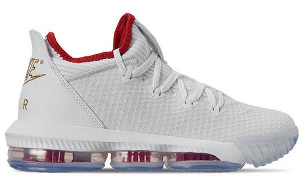 "LeBron 16 Low 鞋款全新""NBA选秀""配色释出,纪念克利夫兰状元签!"
