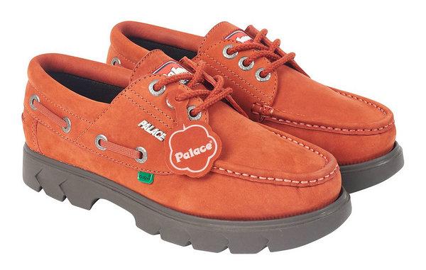 Palace x Kickers 全新联名中年健康鞋发售在即,高级土味时尚