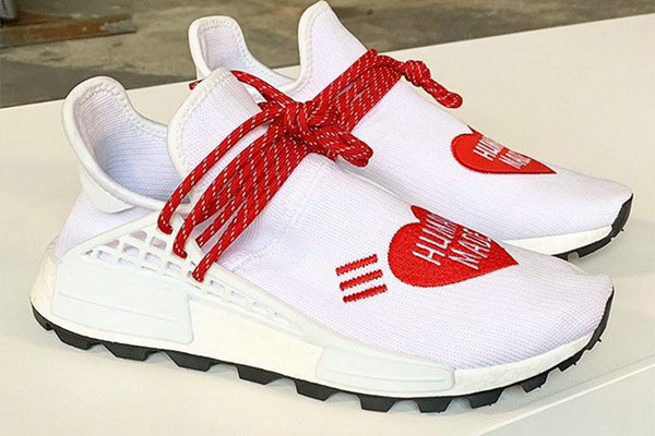 HUMAN MADE x adidas 全新联名 Solar Hu Glide 鞋款红色版本释出