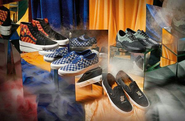 Vans x 哈利波特 2019 联名鞋款系列官方细节美图赏析
