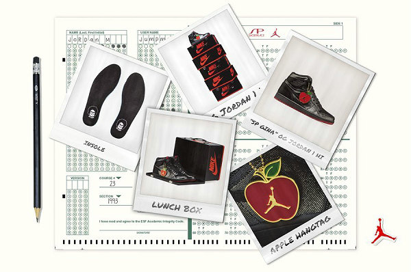 "Shoepalace x AJ1""SP Gina""联名鞋款及配套服饰系列正式公布"