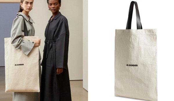 """德国品牌 Jil Sander """"超大帆布袋"""" 即将发售,极简主义美学~"""