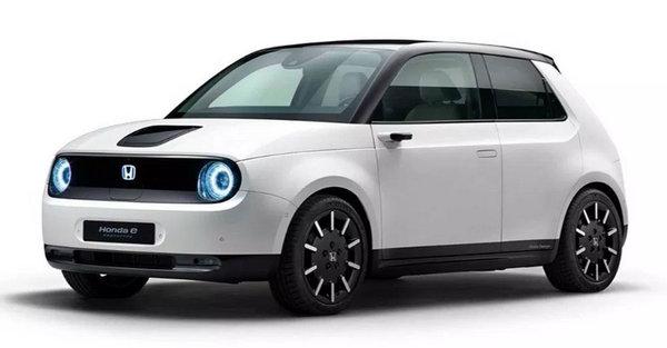 Honda 公开电能小车「Honda E」 5 款不同配色,可爱复古外型!