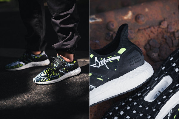 Foot Locker x adidas 联名 SPEEDFACTORY AM4 鞋款全新柏林别注配色释出